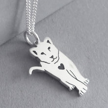 Load image into Gallery viewer, Lion Cub Pendant on Chain