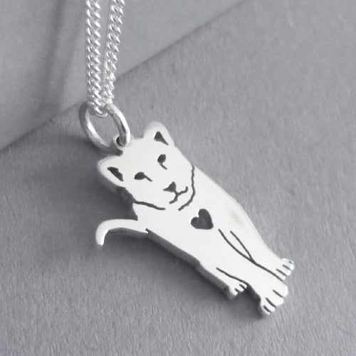 Lion Cub Pendant on Chain
