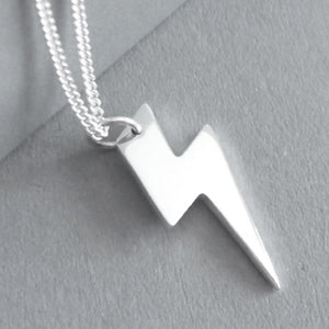 Lightning Bolt Pendant on chain