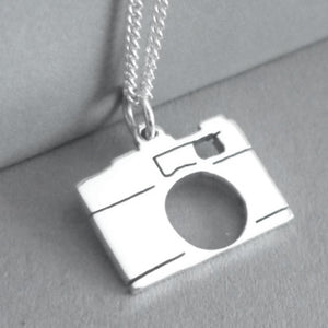 Camera Pendant on Chain