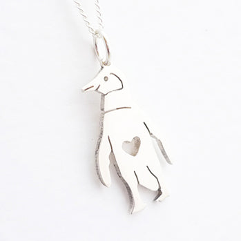 Penguin Pendant on Chain