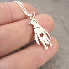 Load image into Gallery viewer, Penguin Pendant on Chain