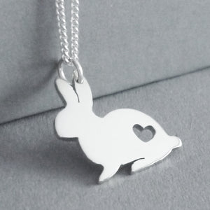 Bunny Rabbit Pendant on Chain