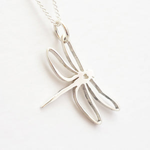 Dragonfly Pendant on Chain