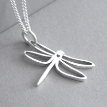 Load image into Gallery viewer, Dragonfly Pendant on Chain