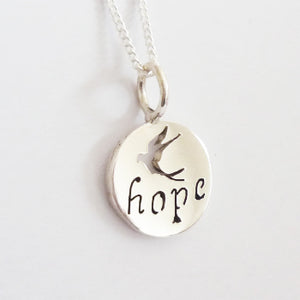 Hope Inspiration Pendant on Chain