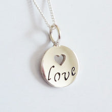 Load image into Gallery viewer, Love Inspirations Pendant on Chain