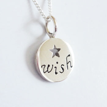 Wish Inspiration Pendant on Chain