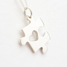Load image into Gallery viewer, Puzzle Piece Pendant on Chain