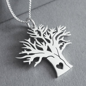 Baobab Tree Pendant on Chain