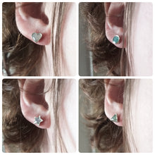 Load image into Gallery viewer, Tiny Shape Resin Stud Earrings