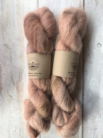 Silk Mohair - PALE ROSE