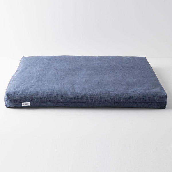 CALM FLOOR PILLOW IN ROYAL SUEDE - The Astral House