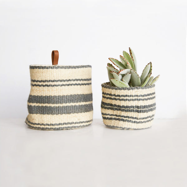 Jute Wall Basket
