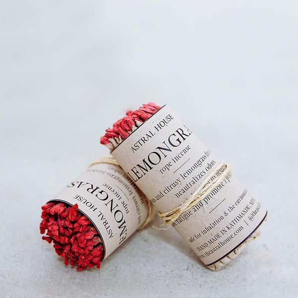 LEMONGRASS ROPE INCENSE
