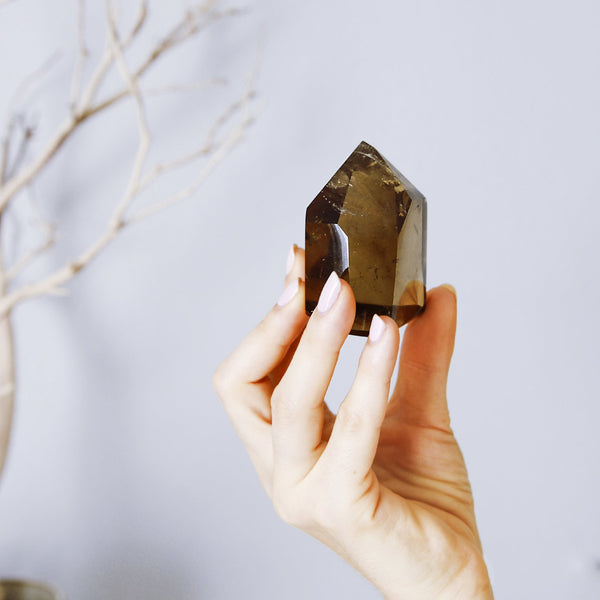 SMOKY QUARTZ Points - The Astral House
