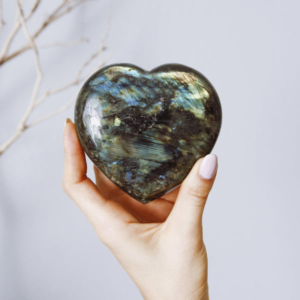 LABRADORITE Hearts - The Astral House