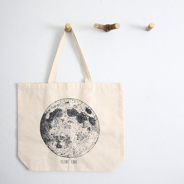 Full Moon REUSABLE Tote Bag - The Astral House