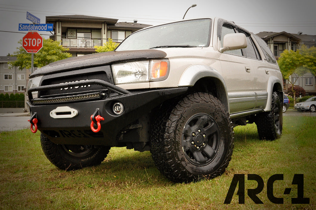 Stealth One Series Front Bumper 3rd Gen 4runner Arc One Industries