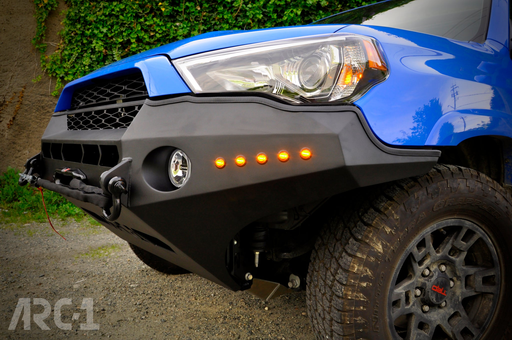 Phantom One Series Front Bumper 5th Gen 4runner 2014 Present Arc One Industries