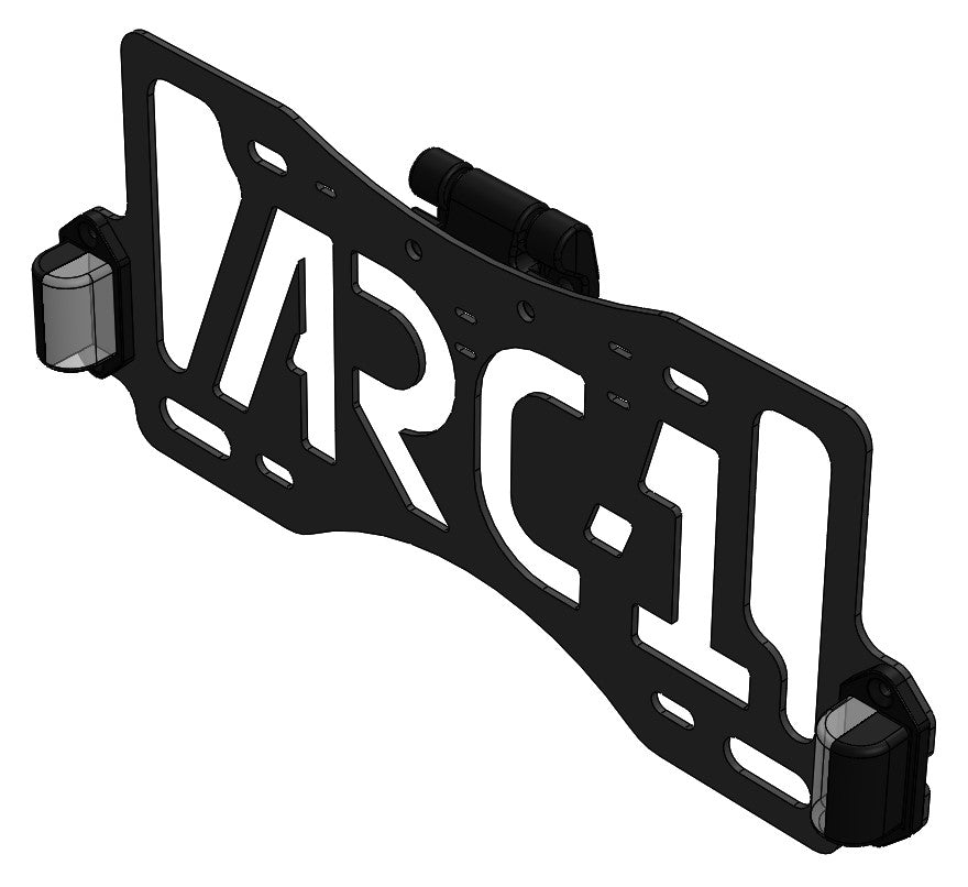 Rear License Plate Flip-up Mount