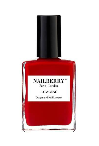 NAILBERRY BREATHABLE & OXYGENATED NAIL LACQUER - Rouge