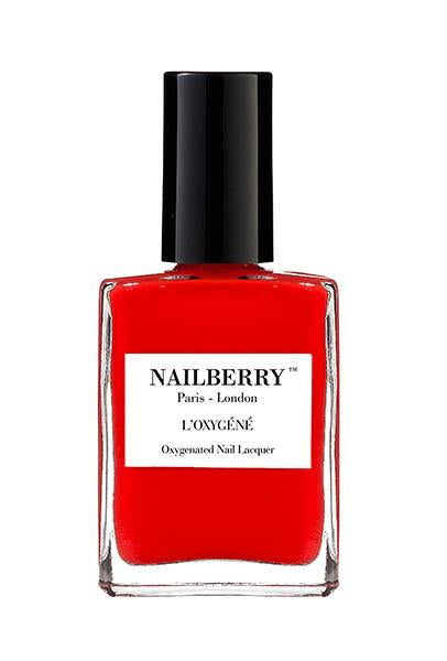 Nailberry Breathable & oxygenated Nail Lacqueer -Cherry Cherie