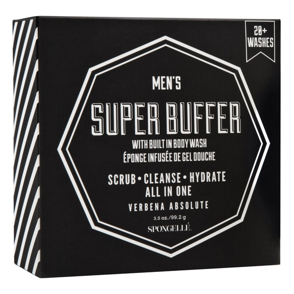 Spongelle Men's Super Buffer Verbena Absolute 99g