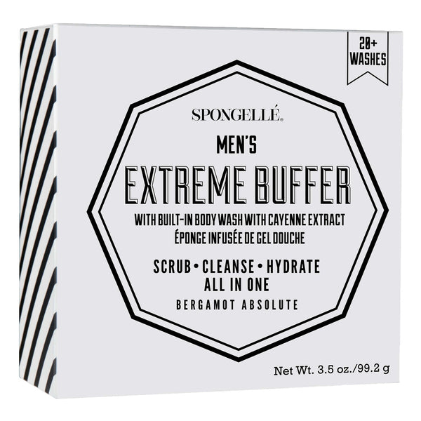 Spongelle Men's Extreme Buffer Bergamot Absolute 99g