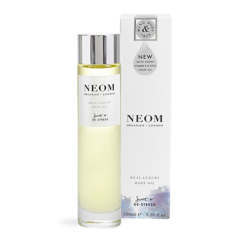 Neom Daily Superskin Body Oil, Scent to De-Stress