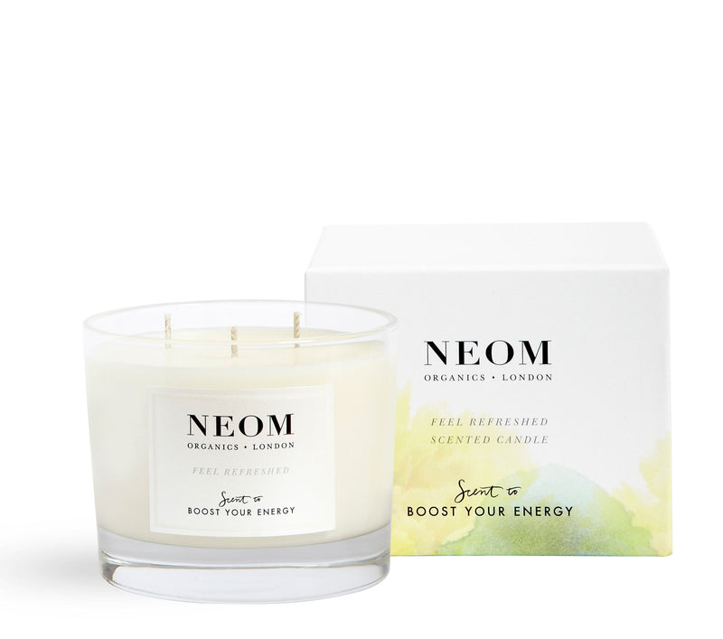 Neom 3 Wick Candle - Boost Your Energy