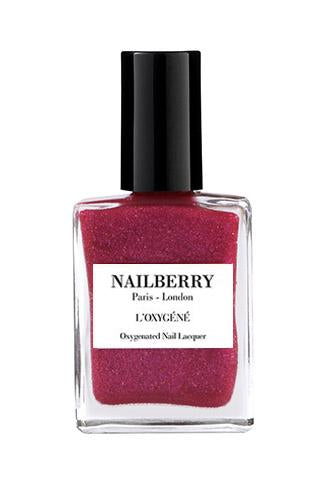 NAILBERRY BREATHABLE & OXYGENATED NAIL LACQUER -Berry fizz