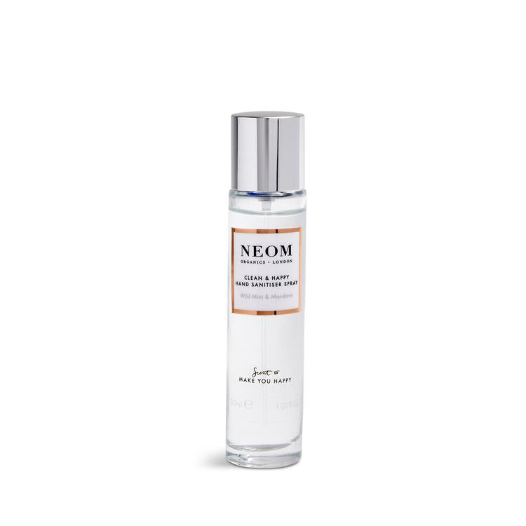 Neom - Clean & Happy Hand Sanitiser Spray 30ml