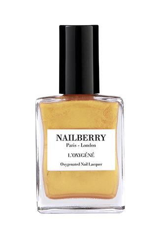NAILBERRY BREATHABLE & OXYGENATED NAIL LACQUER - Golden Hour