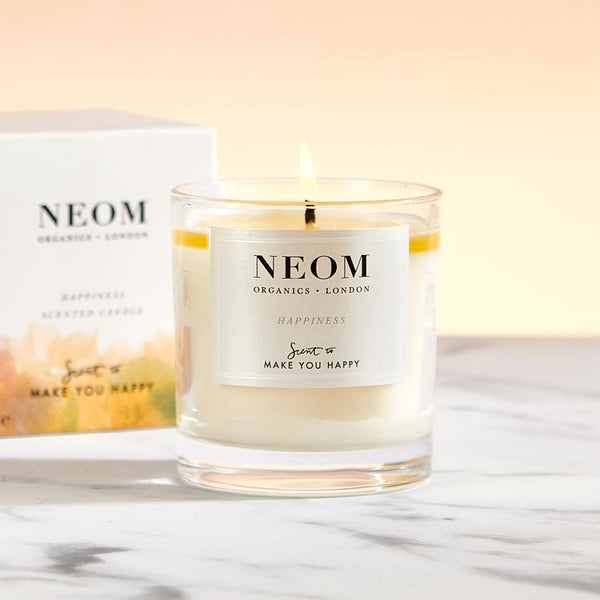 Neom - Happiness Scented Candle (1 Wick)