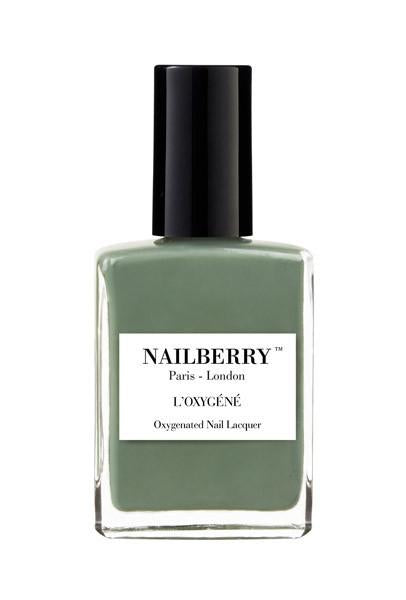 Nailberry  Breathable & Oxygenated Nail Lacquer - Love You Very Matcha