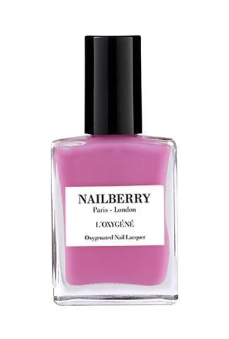 NAILBERRY BREATHABLE & OXYGENATED NAIL LACQUER - POMEGRANATE JUICE