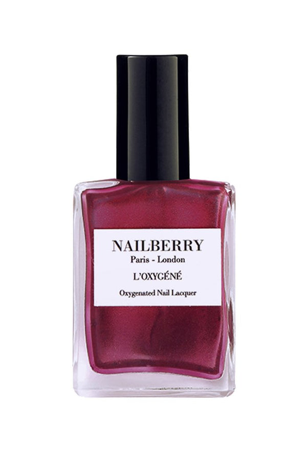 Nailberry Breathable & Oxygenated Nail lacquer- Mystique Red