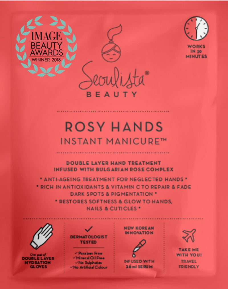 Seoulista Rosy Hands Instant Manicure