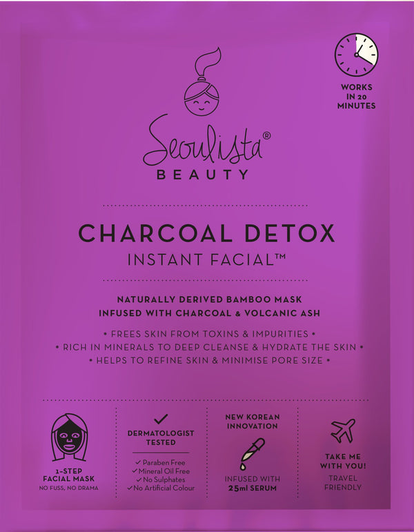 Seoulista Charcoal Cleansing Instant Facial