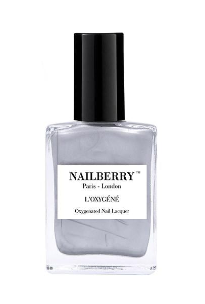 Nailberry Breathable & Oxygenated Nail Lacquer - Silver Lining