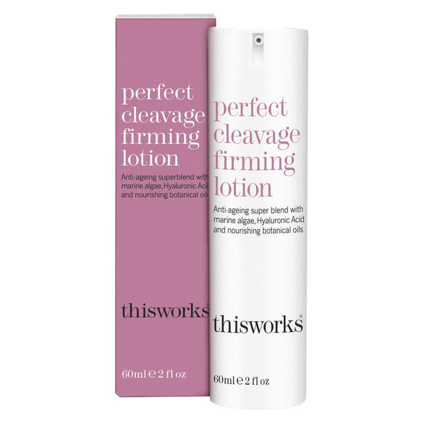 this works - perfect cleavage firming lotion