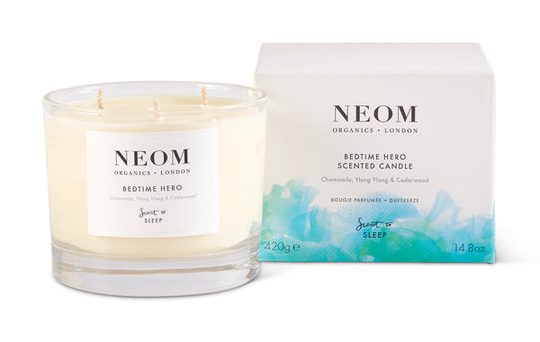 Neom 3 Wick Candle - Bedtime Hero