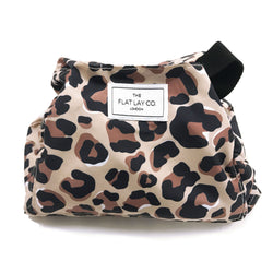The Flat Lay Co Make up bag - Leopard