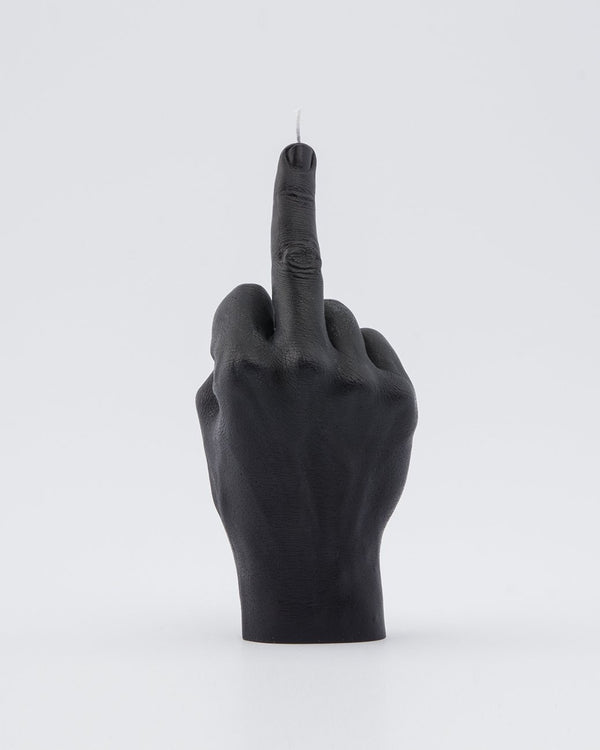 Candle Hand 'F*uck you' Black