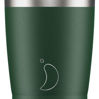 CHILLY'S MATTE GREEN 340ML COFFEE CUP