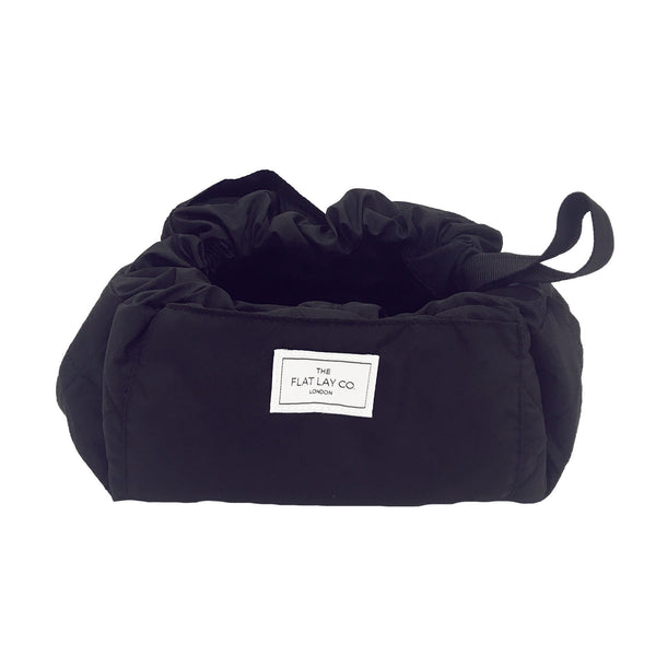 The Flat Lay Co Make up bag - Classic Black