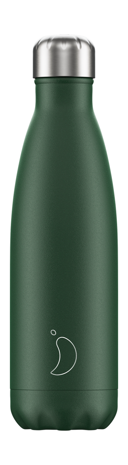 Chilly's Matte Green 500ml Bottle