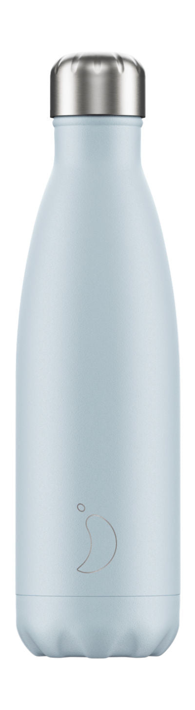 Chilly's bottles - blush blue