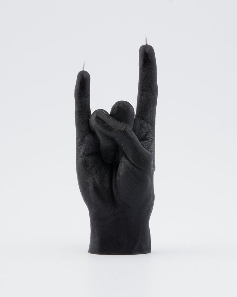 Candle Hand 'You Rock' Black